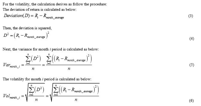 correlation coefficient standard deviation