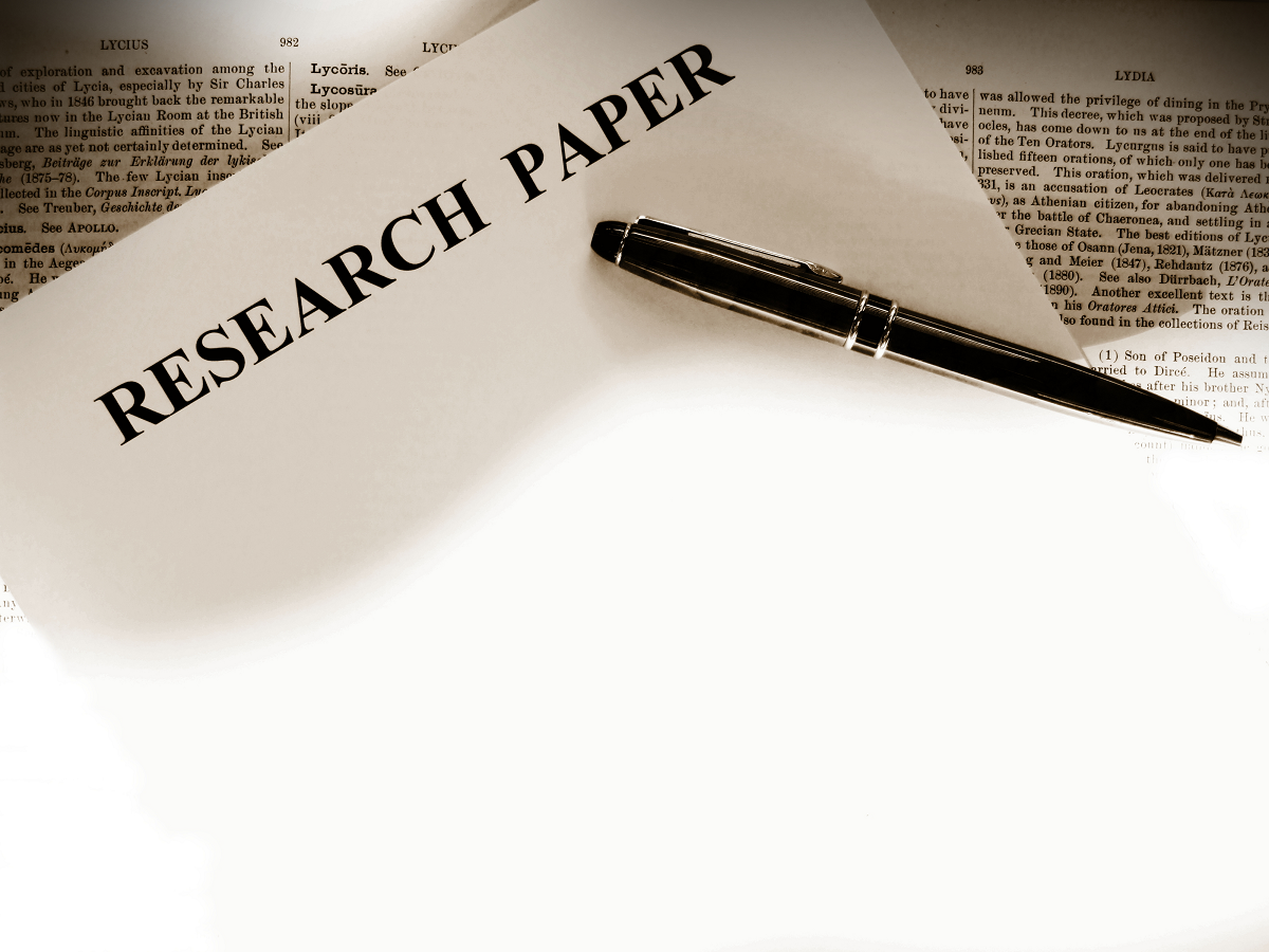 The Fundamentals of Writing a Good Research Paper