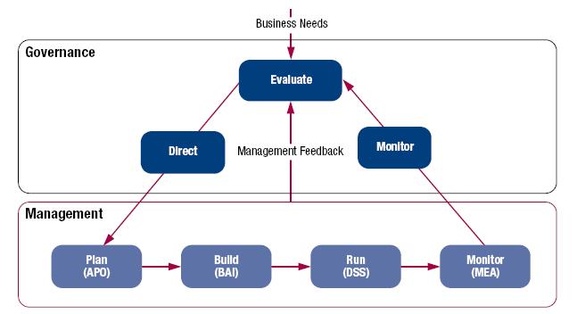 Figure 2-2 Separating Governance and Management