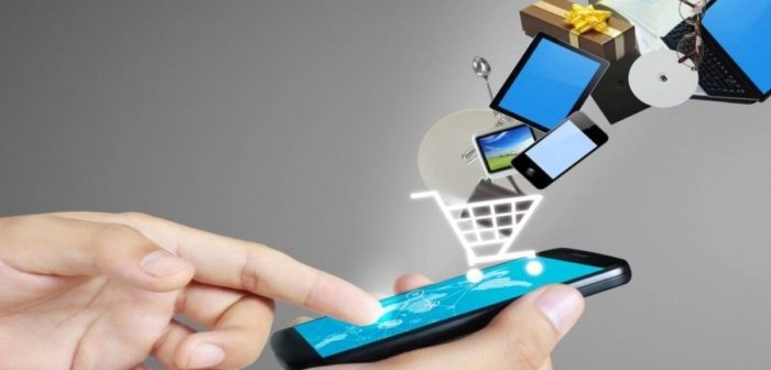 Building usage attitude for mobile shopping applications