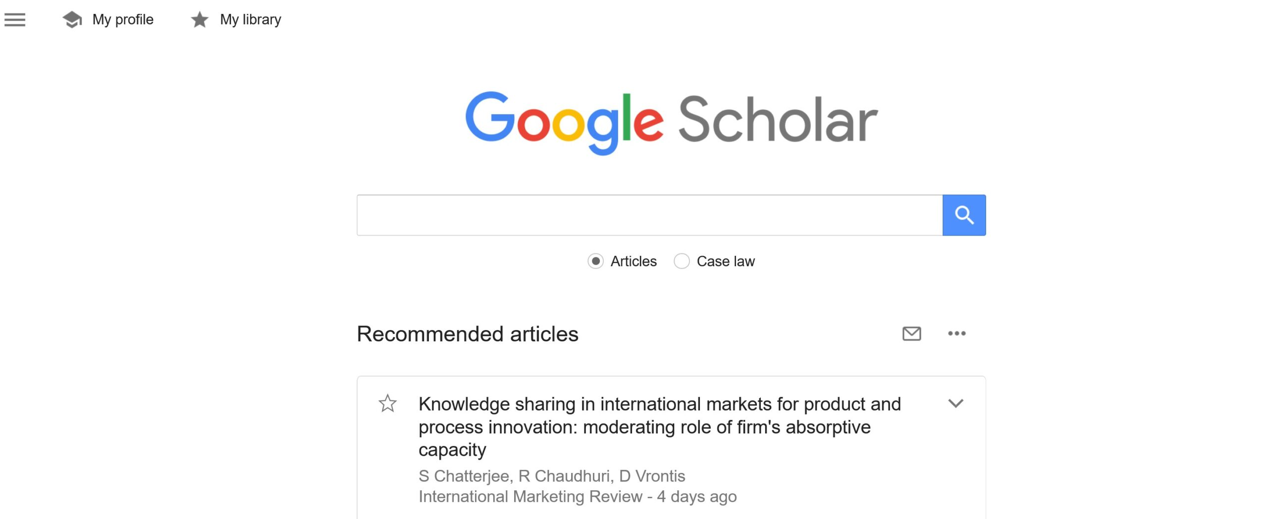 search engines for researchers